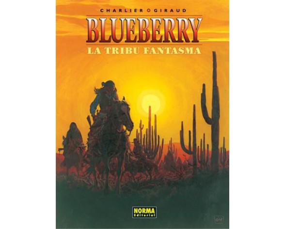 BLUEBERRY 21. LA TRIBU FANTASMA