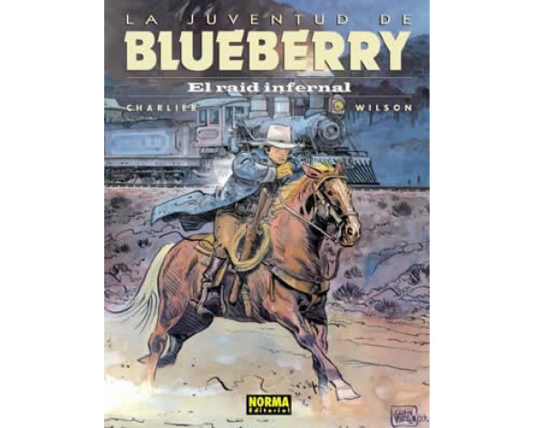 BLUEBERRY 28. EL RAID INFERNAL