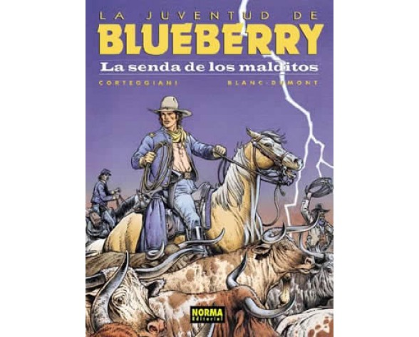 BLUEBERRY 40. LA SENDA DE LOS MALDITOS