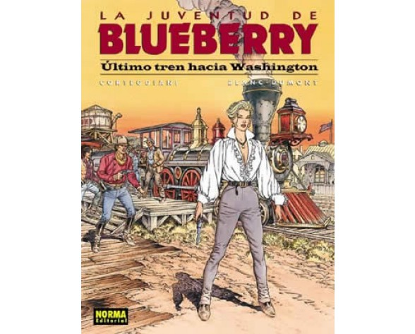 BLUEBERRY 41. ÚLTIMO TREN HACIA WASHINGTON