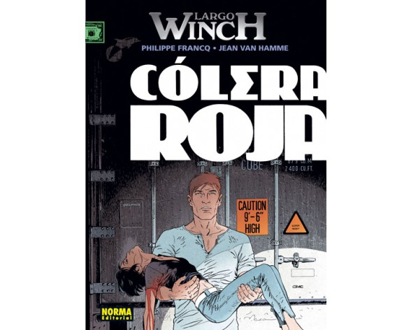LARGO WINCH 18: CÓLERA ROJA