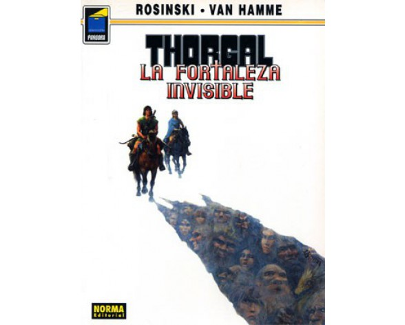 THORGAL 19: LA FORTALEZA INVISIBLE