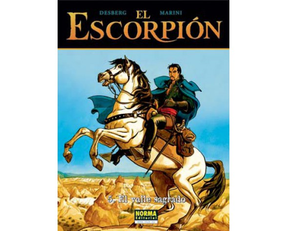 EL ESCORPIÓN 05. EL VALLE SAGRADO (CARTONÉ)