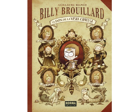 BILLY BROUILLARD 1: EL DON DE LA VISTA CONFUSA