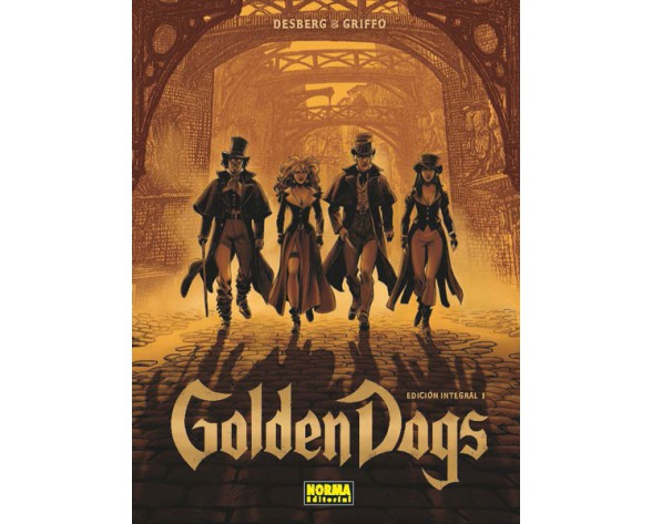 GOLDEN DOGS. EDICIÓN INTEGRAL 1
