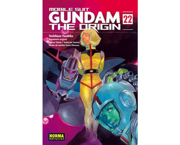 GUNDAM THE ORIGIN 22