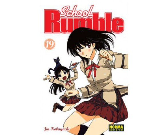 SCHOOL RUMBLE 19