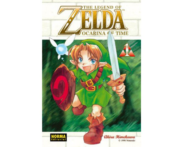 THE LEGEND OF ZELDA 01: OCARINA OF TIME 1