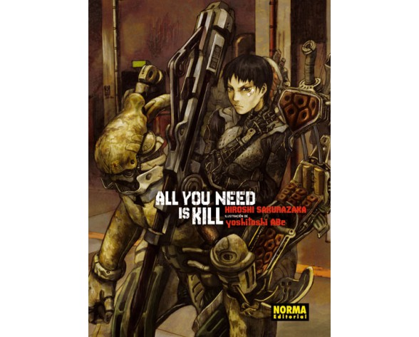 ALL YOU NEED IS KILL (Novela)