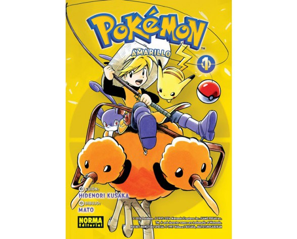 POKÉMON 03. AMARILLO 1