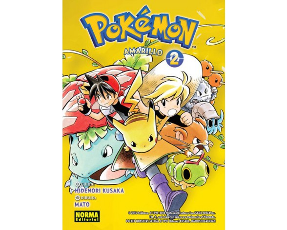 POKÉMON 04. AMARILLO 2