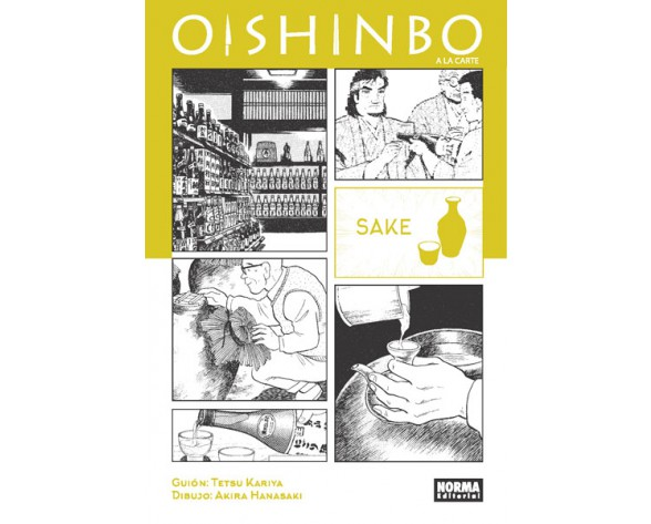 OISHINBO. A LA CARTE 2. SAKE
