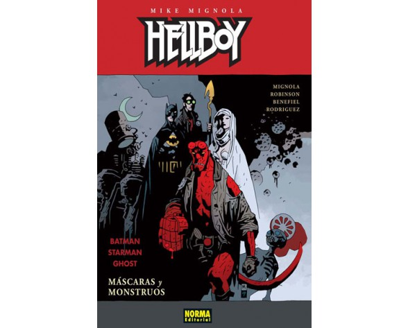 HELLBOY 14: MÁSCARAS Y MONSTRUOS (Ed. Cartoné)