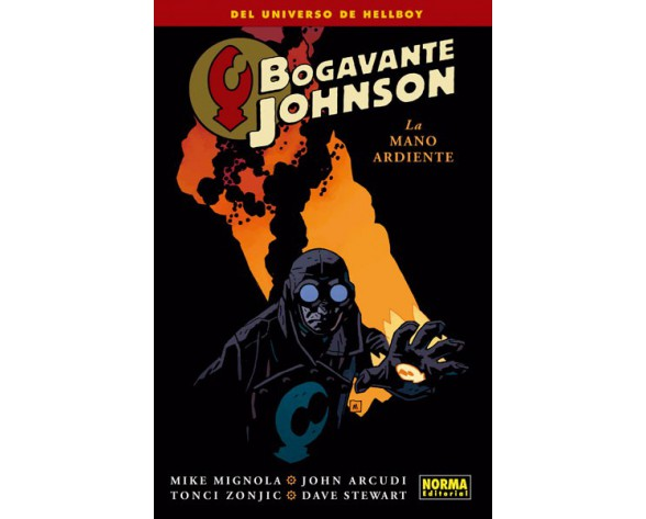 BOGAVANTE JOHNSON 2. La mano ardiente