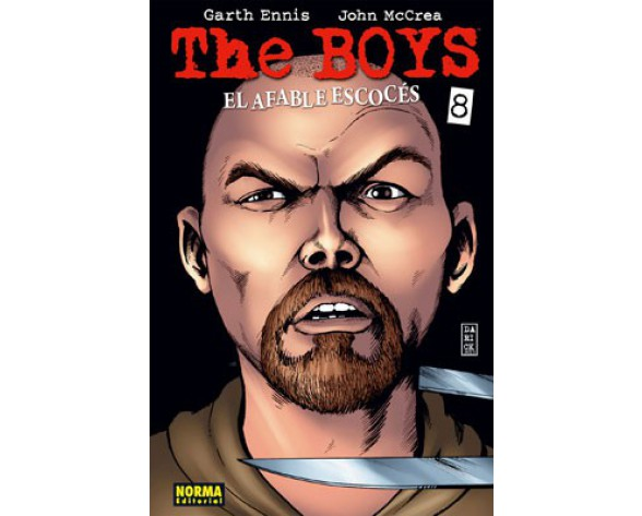 THE BOYS 08. EL AFABLE ESCOCÉS