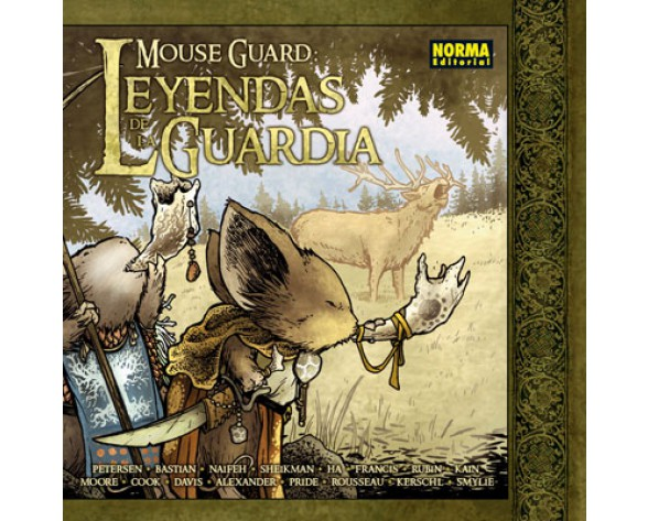 MOUSE GUARD: LEYENDAS DE LA GUARDIA 1