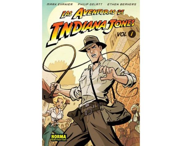 LAS AVENTURAS DE INDIANA JONES 1