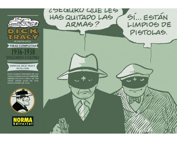 DICK TRACY. LAS TIRAS COMPLETAS 04