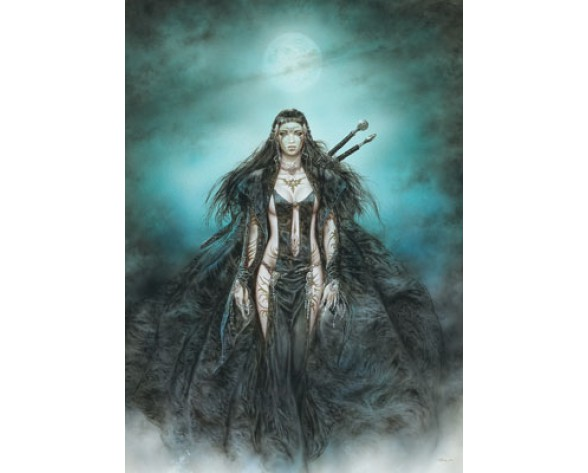PÓSTER LUIS ROYO 35: DAUGHTER MOON