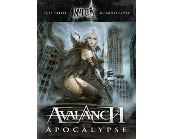 CD DE AVALANCH. MALEFIC TIME APOCALYPSE