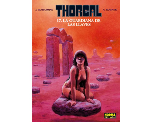 THORGAL 17. LA GUARDIANA DE LAS LLAVES