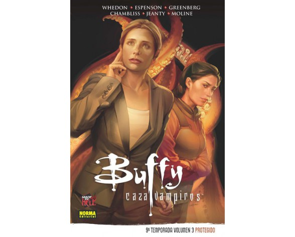 BUFFY CAZAVAMPIROS 9ª TEMPORADA. VOL 3: PROTEGIDO