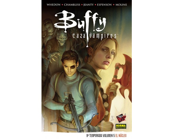 BUFFY CAZAVAMPIROS 9ª TEMPORADA. VOL 5: EL NÚCLEO