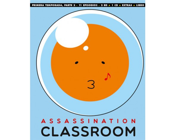 BLURAY ASSASSINATION CLASSROOM: TEMP 1 - PARTE 2 (EP. 12 A 22 - EDICIÓN COLECCIONISTA)