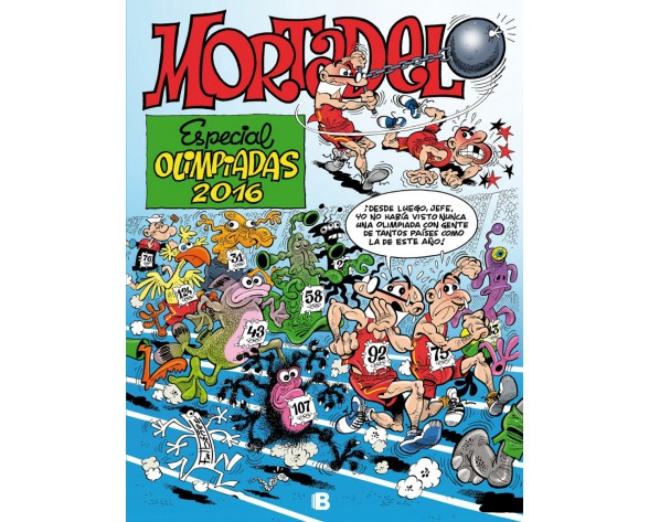MORTADELO Y FILEMON: ESPECIAL OLIMPIADAS 2016