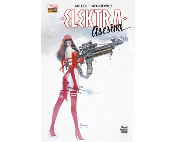 ELEKTRA: ASESINA  (Marvel Graphic Novel)