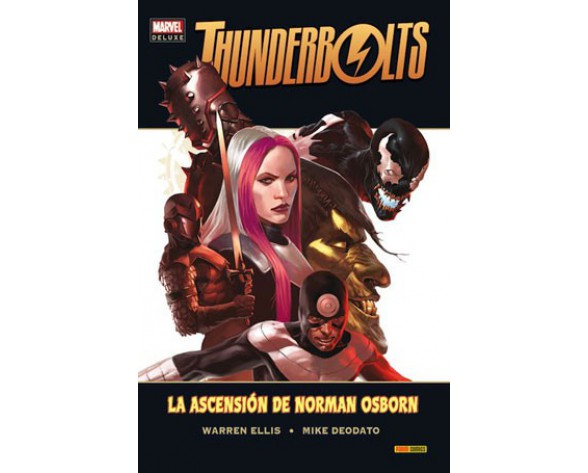 THUNDERBOLTS: LA ASCENSIÓN DE NORMAN OSBORN (Marvel Deluxe)