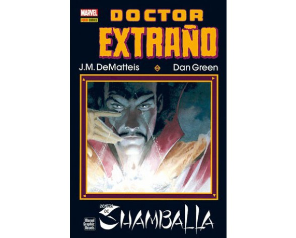 DOCTOR EXTRAÑO: DENTRO DE SHAMBALLA (Marvel Graphic Novel)