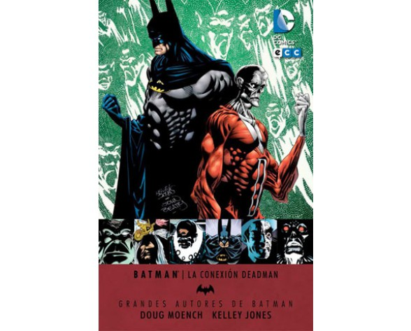 GRANDES AUTORES BATMAN: DOUGH MOENCH Y KELLEY JONES - LA CONEXIÓN DEADMAN