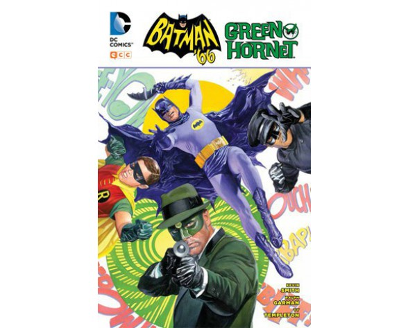 BATMAN ´66 CONTRA GREEN HORNET