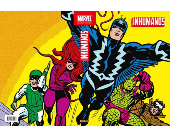 LOS INHUMANOS (Marvel Limited Edition)
