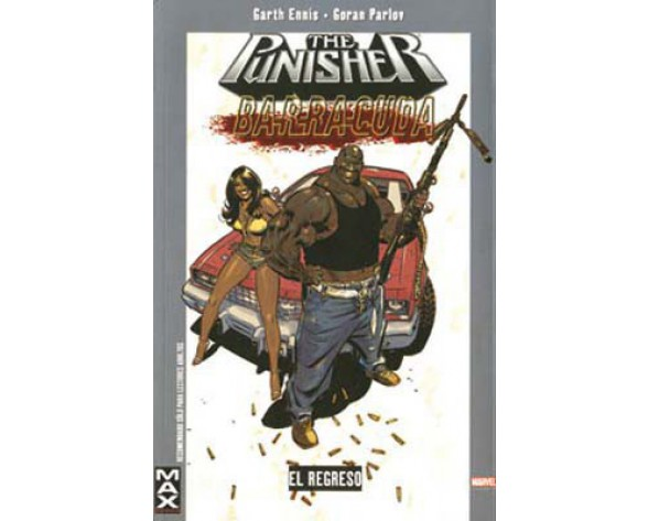 MAX PUNISHER: BARRACUDA 2: EL REGRESO