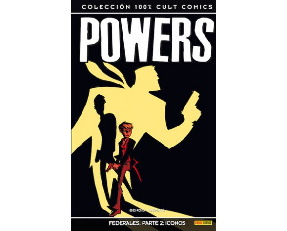 POWERS 16: FEDERALES PARTE 02 - ICONOS