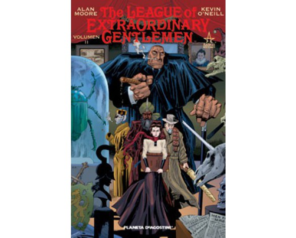THE LEAGUE OF EXTRAORDINARY GENTLEMEN VOL. 02