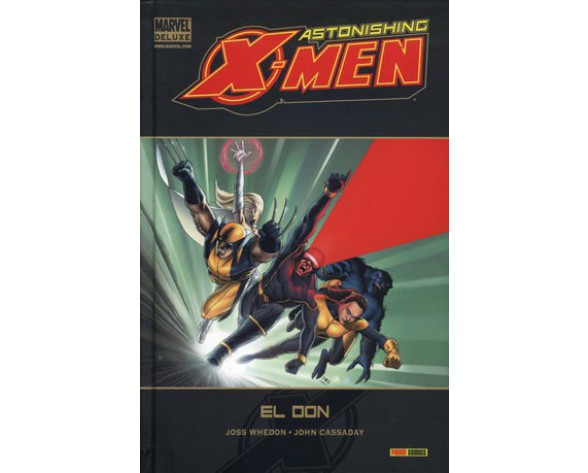 ASTONISHING X-MEN 01: EL DON (Marvel Deluxe)