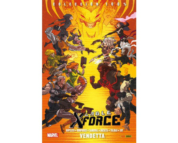 CABLE Y X-FORCE VOL.3 VENDETTA