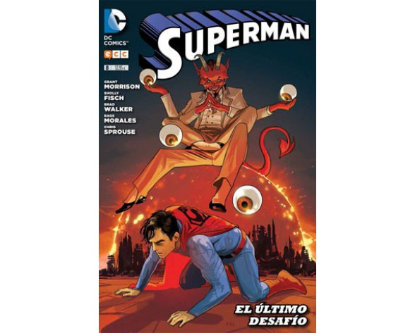SUPERMAN 08 (Reedición trimestral)