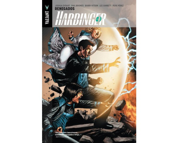 HARBINGER 02: RENEGADOS