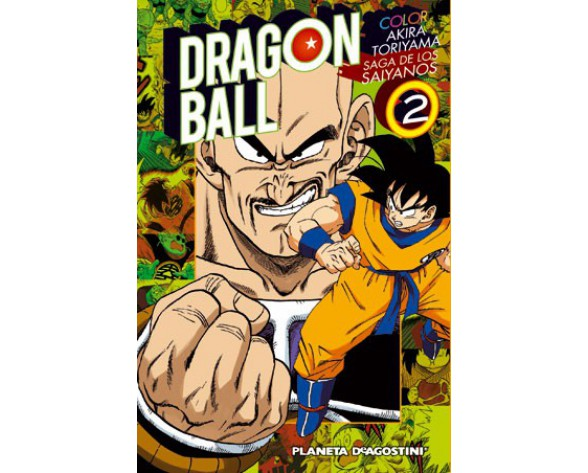 DRAGON BALL COLOR: SAIYAN 02