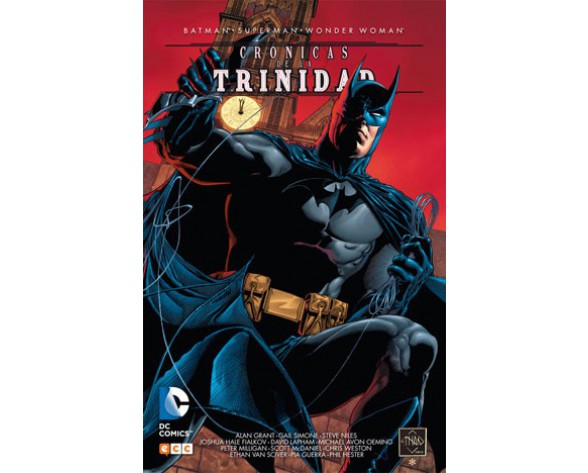 BATMAN/SUPERMAN/WONDER WOMAN: CRÓNICAS DE LA TRINIDAD 01
