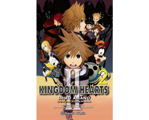 KINGDOM HEARTS II Nº 02