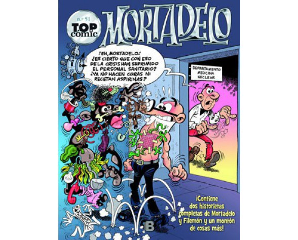 TOP CÓMIC MORTADELO 51: CHAPEAU EL ESMIRRIAU