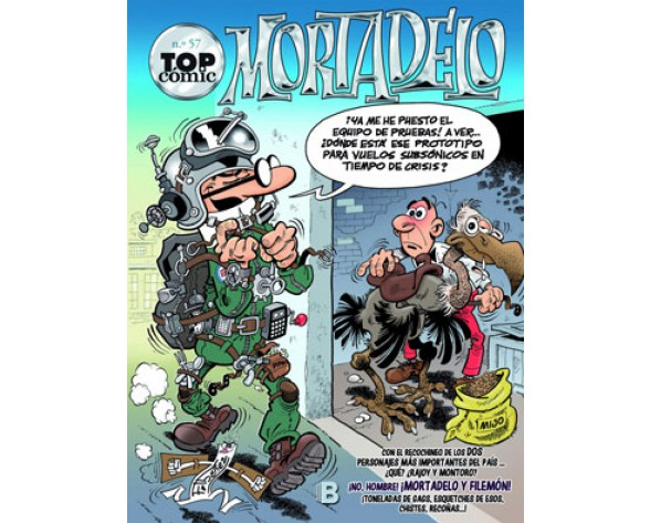 TOP CÓMIC MORTADELO 57: LA MÁQUINA DE COPIAR GENTE