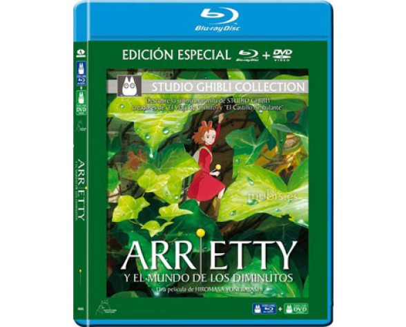 BLURAY ARRIETTY Y EL MUNDO DE LOS DIMINUTOS