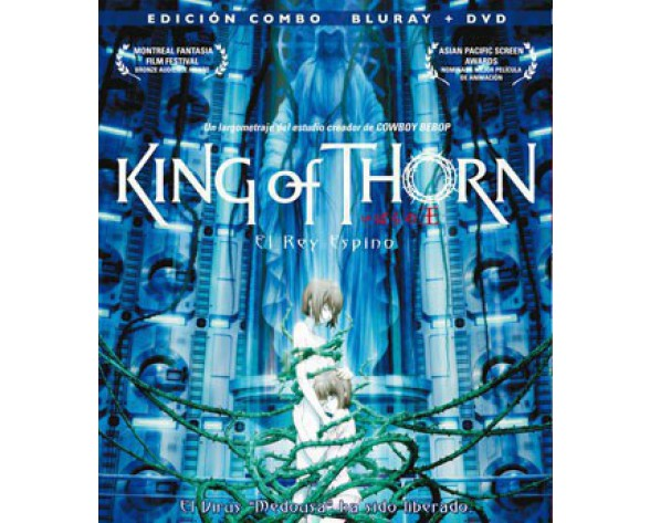 BLURAY KING OF THORN (COMBO BLURAY + DVD)