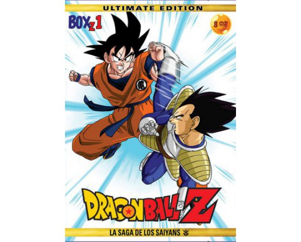 DVD DRAGON BALL Z BOX 01: LA SAGA DE LOS SAIYANS